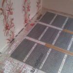 Infrapuna küttekile põrandaküte